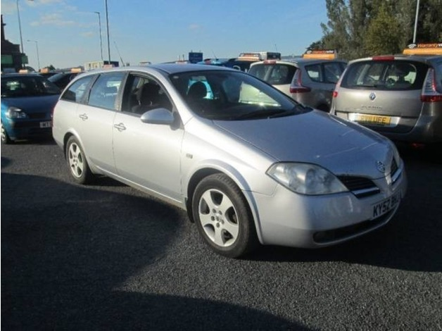 Nissan PRIMERA, 2002 (52), Manual Diesel, 122,000 miles in Warrington