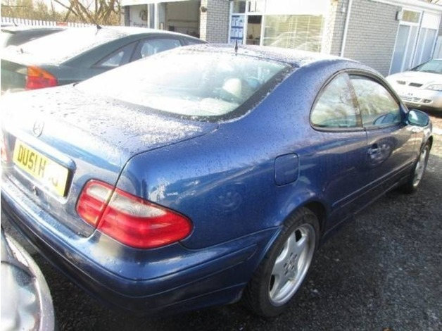 Mercedes CLK, 2001 (51), Automatic Petrol, 121,009 miles in Warrington