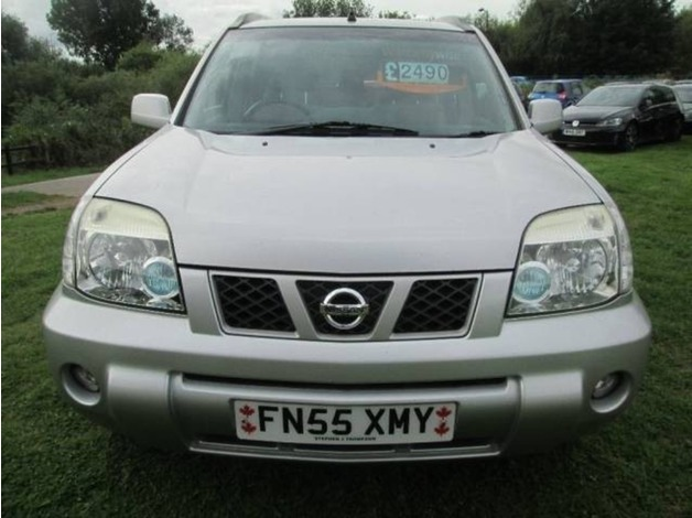 Nissan X-TRAIL, 2005 (55), Manual Diesel, 122,000 miles in Warrington
