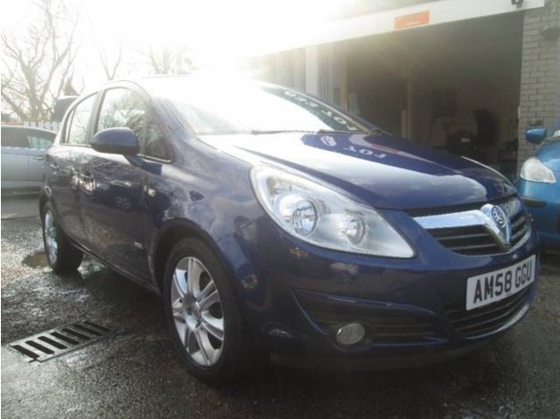 Vauxhall CORSA, 2008 (58), Manual Petrol, 44,600 miles in Warrington