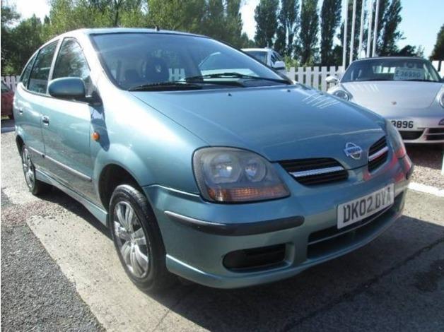 Nissan ALMERA TINO, 2002 (02), Manual Petrol, 120,000 miles in Warrington
