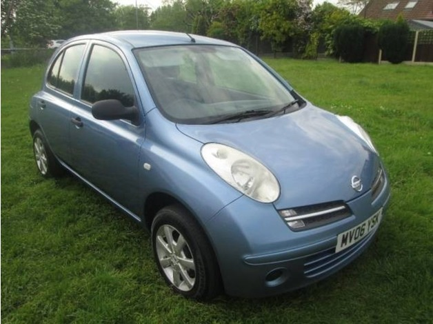 Nissan MICRA, 2006 (06), Manual Petrol, 81,000 miles in Warrington