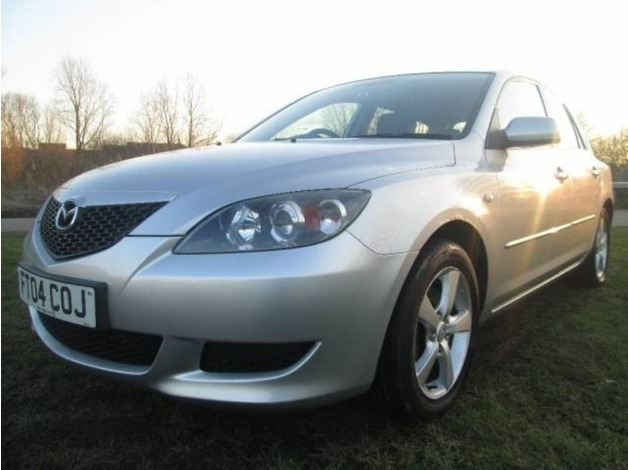 Mazda MAZDA3, 2004 (04), Manual Petrol, 74,990 miles in Warrington
