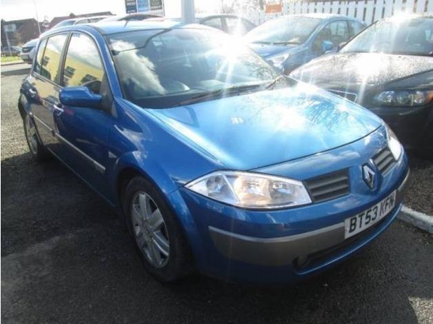 Renault MEGANE, 2004 (53), Manual Diesel, 122,000 miles in Warrington