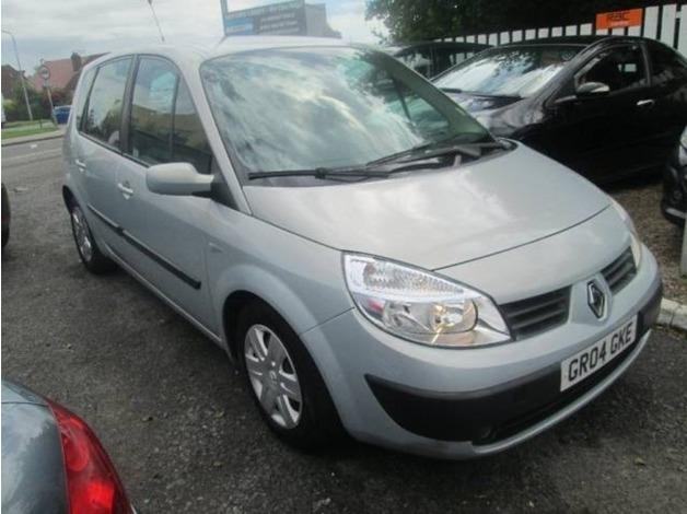 Renault SCENIC, 2004 (04), Manual Petrol, 112,000 miles in Warrington