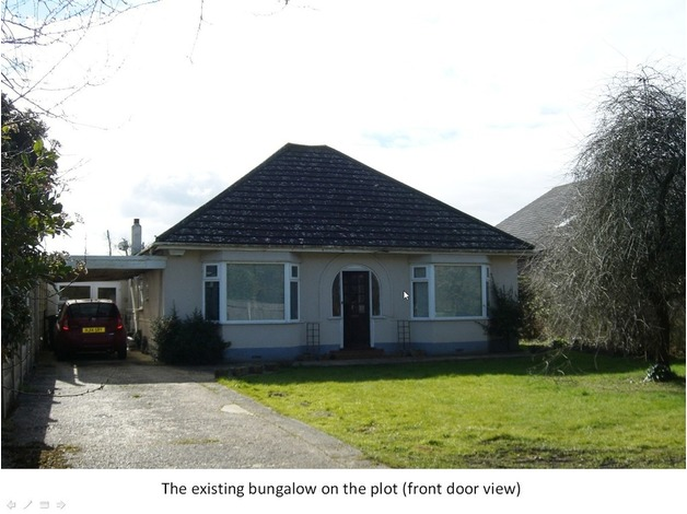 Bungalow and Prime Plot of Land in Wimborne, perfect location for family with children & pets