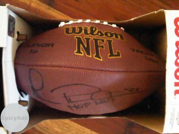 AUTHENTIC Signed NFL Football !! Michael Irvin in Johannesburg