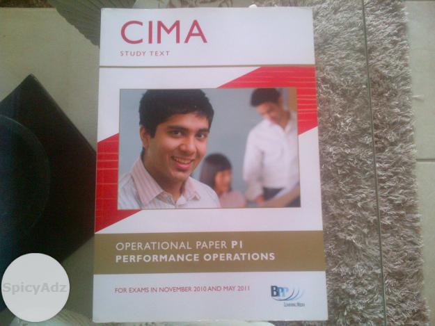 CIMA PERFORMANCE OPERATIONS PAPER P1 in Pietersburg