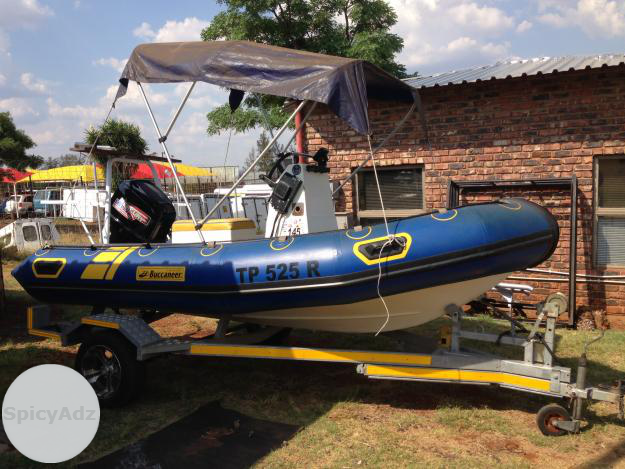 Buccaneer Rubberduck 40HP Mercury in Rustenburg