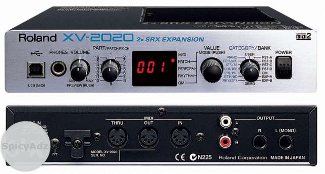 Roland XV2020 Sound Moduler Sytheziser in Hartswater